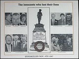 Enniskillen bomb photo montage