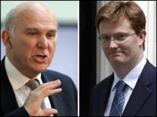 Vince Cable and Danny Alexander