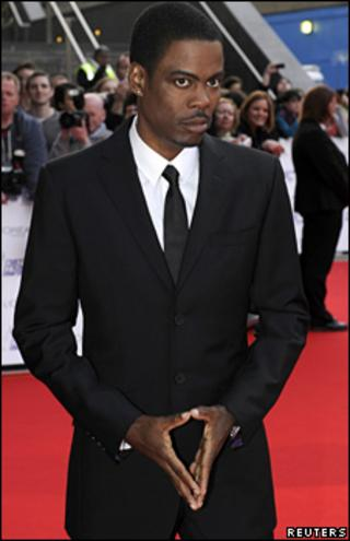 Chris Rock attends the National Movie Awards