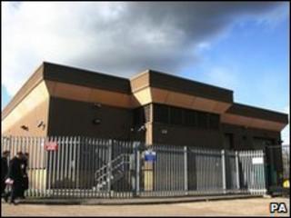 Securitas depot in Tonbridge, Kent