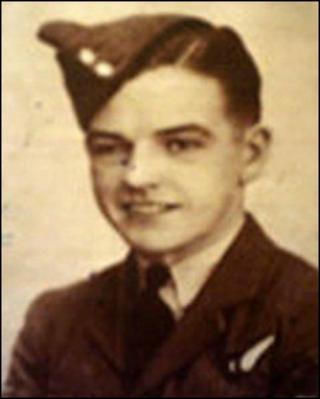Flight Engineer Arthur Pritchard