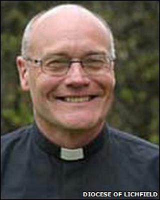Reverend Canon Geoffrey Annas the new Bishop of Stafford