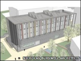 Artist's impression of the centre