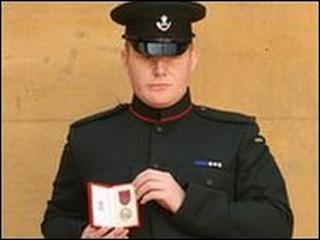 Rfn Jacobs awarded the George Medal