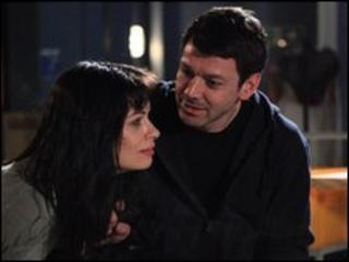 Gray O'Brien as Tony Gordon and Alison King as Carla Gordon