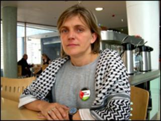 Sarah Colborne in London