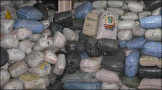 Bags of coca