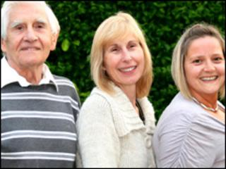 Members of the Clark's Pie management - Dennis Dutch, Beverley Pemberton, Ceri Dutch-John