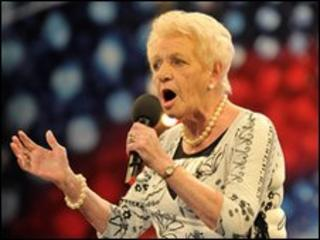 Janey Cutler on Britain's Got Talent