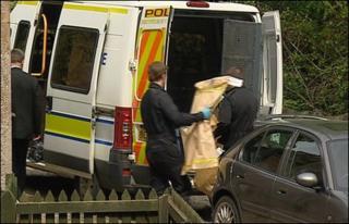 police riad in Moy