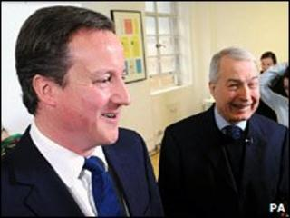 David Cameron and Frank Field