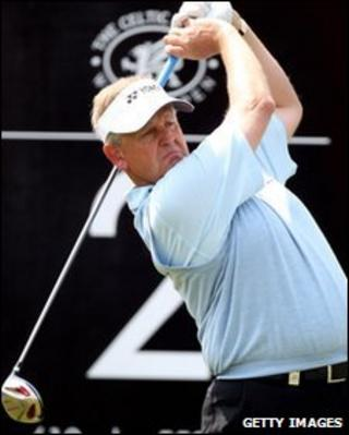 Colin Montgomerie was playing in the Wales Open