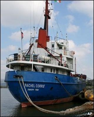 MV Rachel Corrie (file image)