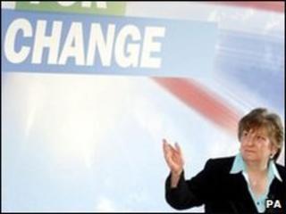 Scottish Conservative leader Annabel Goldie