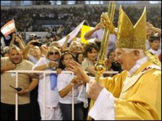 Pope at Mass in Cyprus. 6 June 2010