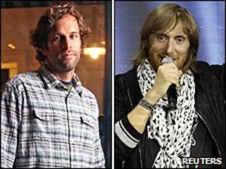 Jack Johnson and David Guetta