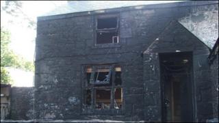 House near Nefyn gutted by fire