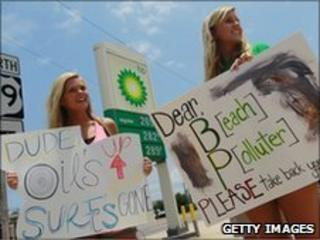Anti-BP protestors