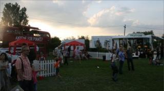Wychwood Festival scene