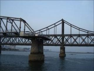 China-North Korea bridge