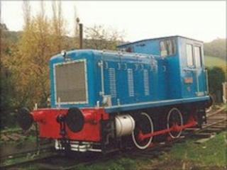 0-4-0 diesel mechanical locomotive 'Taurus' (pic: John Willis)