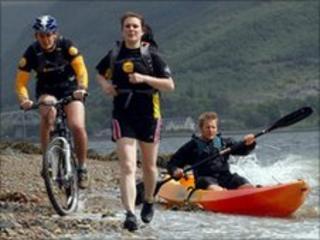 Coast to Coast Adventure challengers