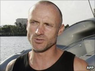 Anti-whaling activist Pete Bethune (file image)