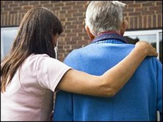 Pensioner and carer