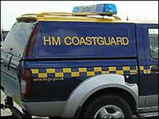 Coastguard vehicle