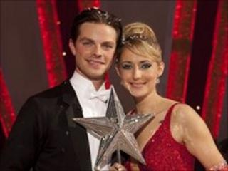 Strictly Come Dancing's Brian Fortuna and Ali Bastian