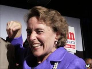 Blanche Lincoln, after wining her primary