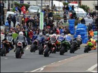 North West 200 motorbikes
