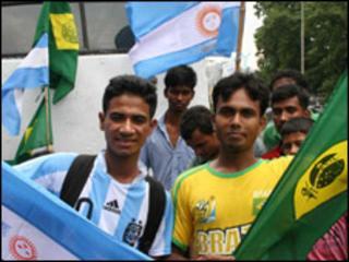 Kamruzaman is a Brazil fan