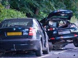 Scene of accident