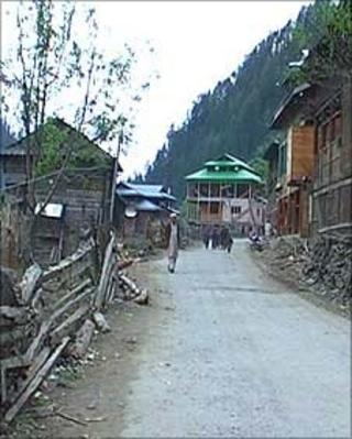 Athmuqam town