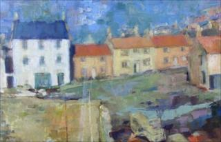 Crail Harbour by Sheena Begg