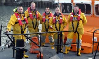 Kirkwall RNLI crew