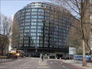 Westminster Bridge Road in London
