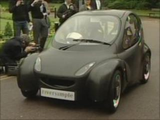 Hydrogen powered Local Car from Riversimple