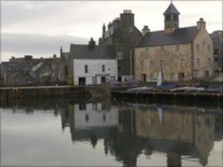 View of Lerwick, Shetland