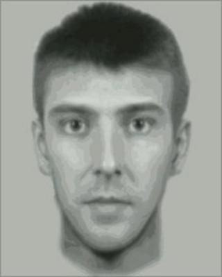 Computer-generated image of suspect