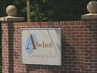 Abshot Country Club entrance
