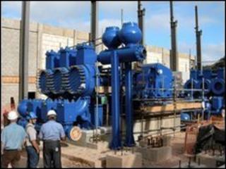 Installation of pumps