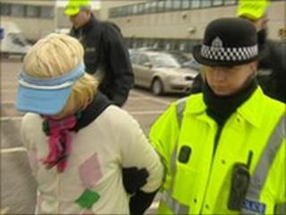 Arrest at Aberdeen Airport