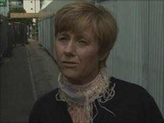 Jane Hiatt on Central Bridge, Southampton
