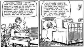 The first Little Orphan Annie comic strip