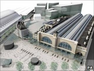 Plan for new King's Cross