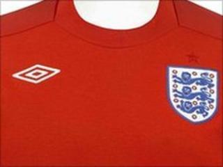 The new England away kit