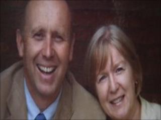 Ken Dorman and his wife