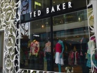 Ted Baker shop